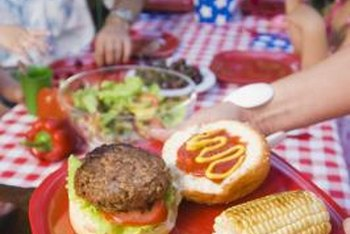 Choosing lean protein is key to creating a delicious, low-fat burger.