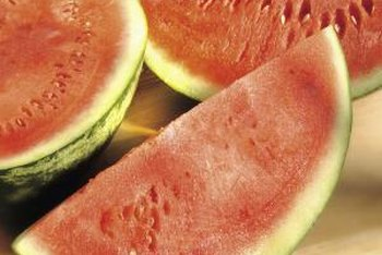 Watermelon rind should be cut up for composting.
