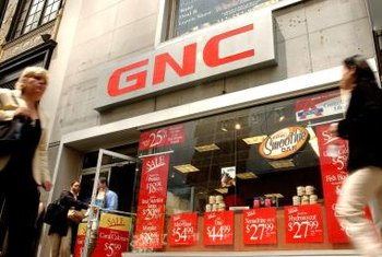 GNC has retail locations as well as an online store.