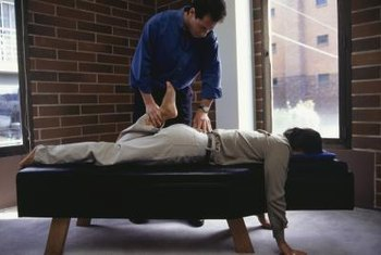 A chiropractor commonly treats patients for back pain.