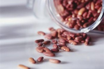 Beans are high-starch foods packed with fiber, protein and nutrients.