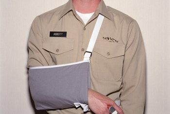 An injury at work may entitle you to worker's compensation benefits.