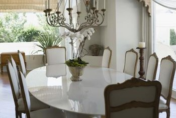 Protect your cushions to keep your dining room chairs looking great.