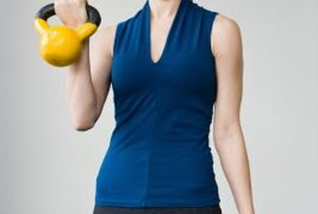 Get a great workout with kettlebells.