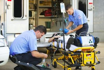 Emergency medical technicians can take an exam to fulfill recertification requirements.