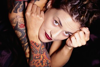 Tattoo and piercing models are becoming increasingly popular.