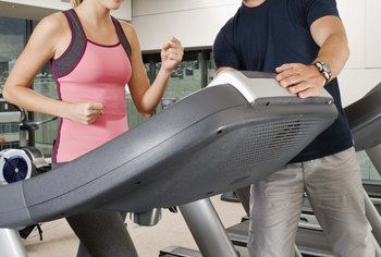 Treadmills offer many options for getting in shape.
