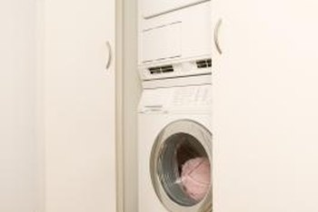 Replacing a stacked washer may require buying a new dryer.