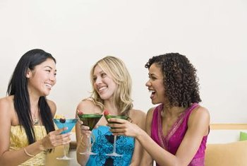 More young women than older women report that they consume alcoholic beverages often.