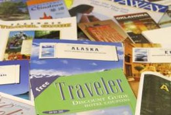Brochure clutter is a challenge for entertainment and dining businesses in tourist areas.