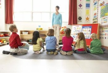 Grade school teachers take classes in education, child development and teaching methodology.