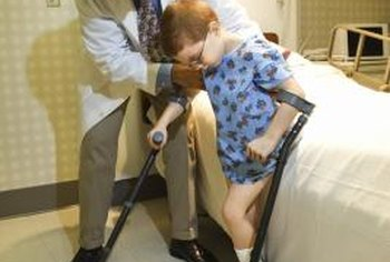 Occupational therapists frequently work with disabled children.