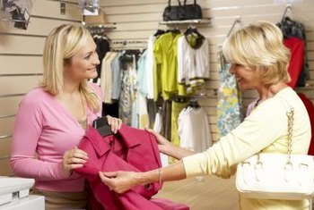 You may be able to sell your boutique items on consignment.