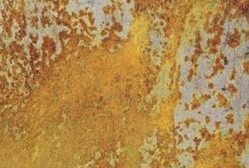 Rust is a compound that forms from a redox reaction between iron and oxygen.