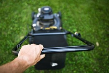 Keeping your mower blade sharp improves the cut quality.