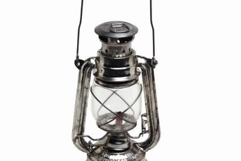 The mantle is the component in a lantern that produces a wide-ranging light.