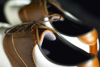 Market your golf shoes online.