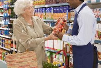 Grocery stores are traditional brick-and-mortar businesses.