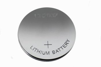 Typical coin cell battery used to maintain BIOS password information