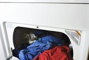 Gum stuck inside your dryer can make a mess on your clothing.