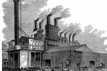 Factory work lured Americans to urban centers and depopulated entire rural communities.