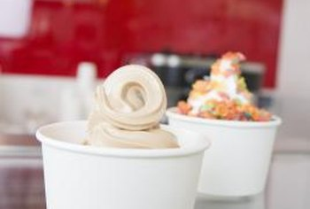 TCBY offers franchise options to sell its branded frozen yogurt.