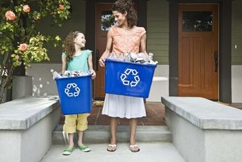 In 2009 the U.S. recycled and composted 82 million tons of solid waste, preventing 178 million metric tons of CO2 emissions.