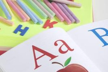 Kids begin learning English grammar basics in kindergarten.