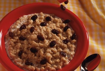 Oatmeal makes a nutritious, diet-friendly start to the day.