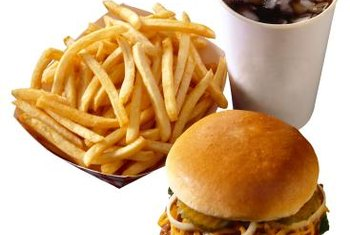 Fast food is high in calories and low in micronutrients.