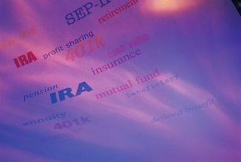 Traditional and Roth IRAs are the most common types of IRAs.