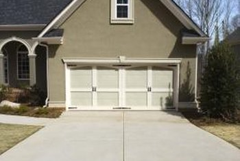 Control joints help prevent cracks at other areas of the driveway.