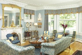 Custom window treatments make your room one-of-a-kind.