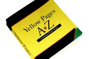 You can choose from many size options for Yellow Pages advertisements.