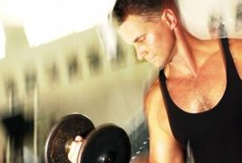 Dumbbells can help you to achieve sleek arms.