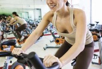 Use a stationary bike and a stopwatch to do intense interval exercises.