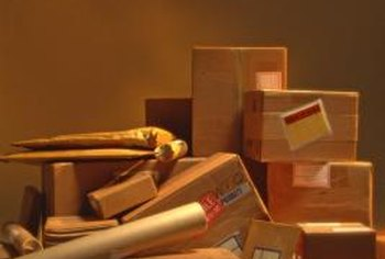 Multiple shipments require careful calculation of the total postage.