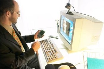 With a compatible computer system, you can use Skype to communicate using tools such as video conferencing and instant messaging.