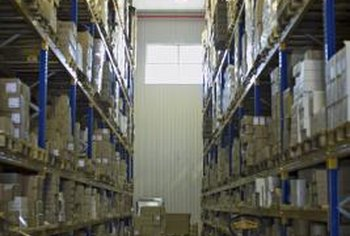 A centralized warehouse usually means products are stored in a large facility.