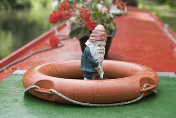 Yard ornaments can make a yard more interesting and appealing.