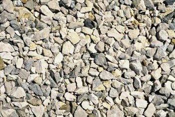 Gravel comes in a variety of sizes.