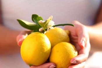 Meyer lemons can be used when cooking.