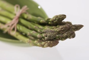 Asparagus requires about three years of growth before it is ready for harvesting.