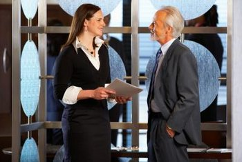 Managers help you find learning opportunities, such as management training.