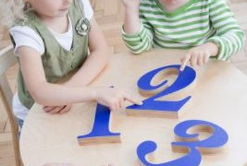 When children learn to count, they recognize that numbers represent quantities.