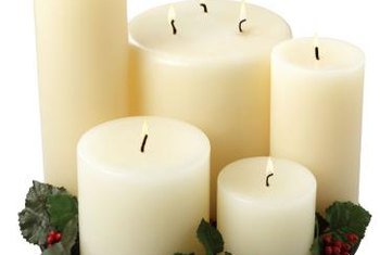 A three-wick candle requires monitoring to avoid spilled wax.