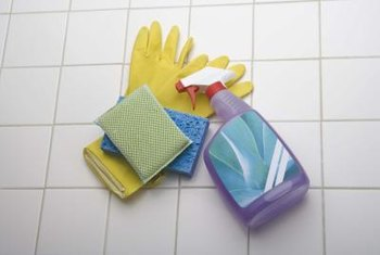 Most bathroom cleaners are suitable for fiberglass.
