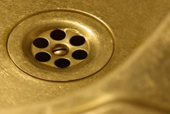 A leaky sink will cause water damage to anything below it.
