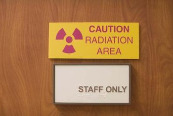 Radiation technicians are part of an oncology team.