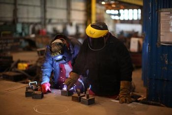 Helpers make welders more efficient by performing routine setup chores.